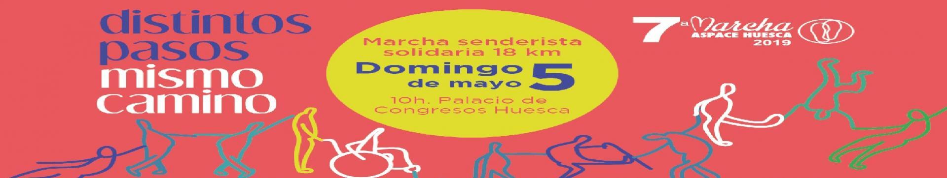 MARCHA ASPACE HUESCA 2019